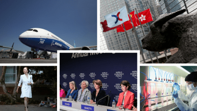 BOEING CANADA-CHINA TENSION WORLD ECONOMIC FORUM
