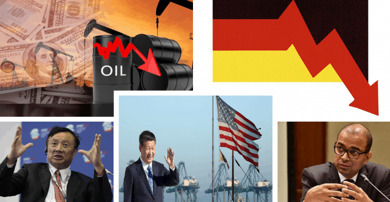 ואווי, מחירי הנפט, מלחמת סחר