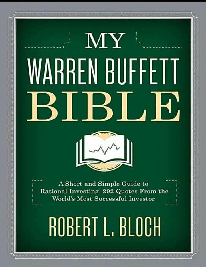 MY WARREN BUFFETT BIBLE