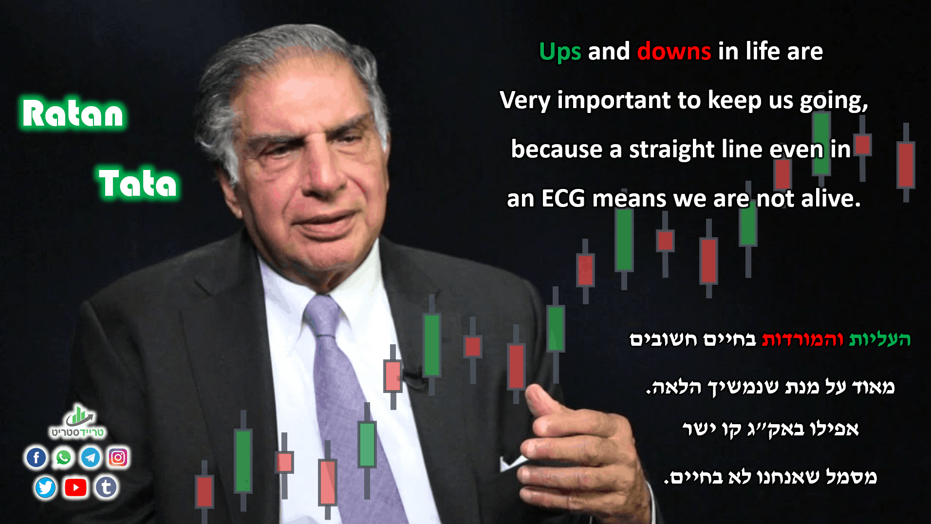 Ratan Tata - Ups and downs in life are Very important to keep